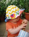 Polish Flowers Baby Hat