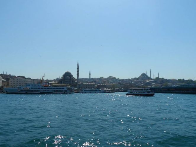 Istanbul Strait of Bosphorus