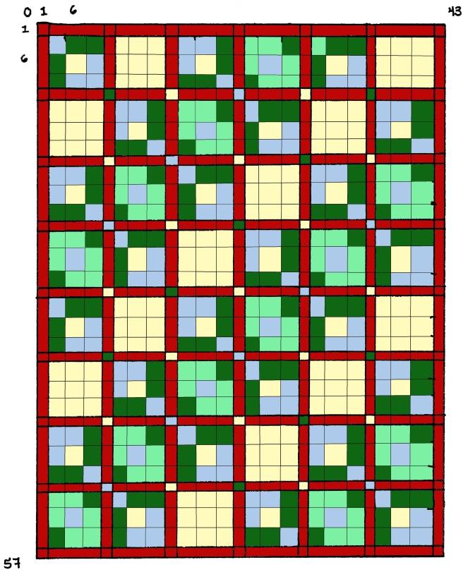 Liam's baby quilt-- Rebecca Górzyńska 2014