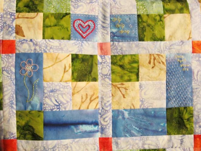 4 blocks embroidery-- Rebecca Górzyńska