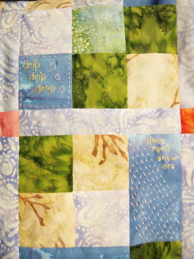 drip drip drop embroidery-- Rebecca Górzyńska