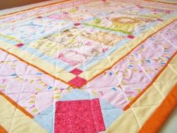 Hello World baby quilt #2