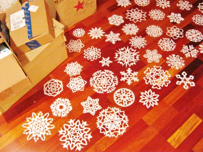Flock of Snowflakes