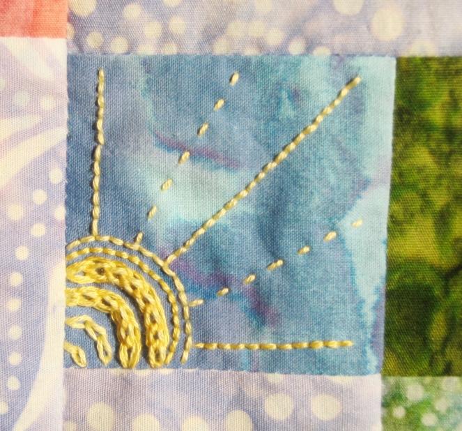 sunshine embroidery-- Rebecca Górzyńska