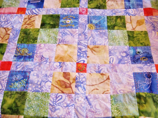 patches embroidery Rebecca Górzyńska