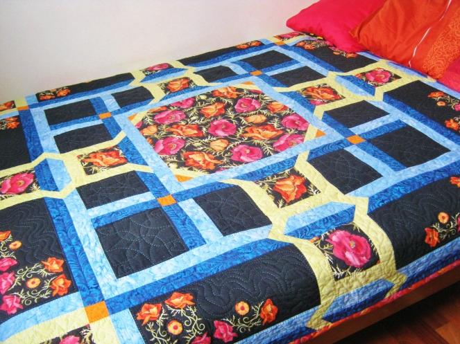 poppy quilt 5
