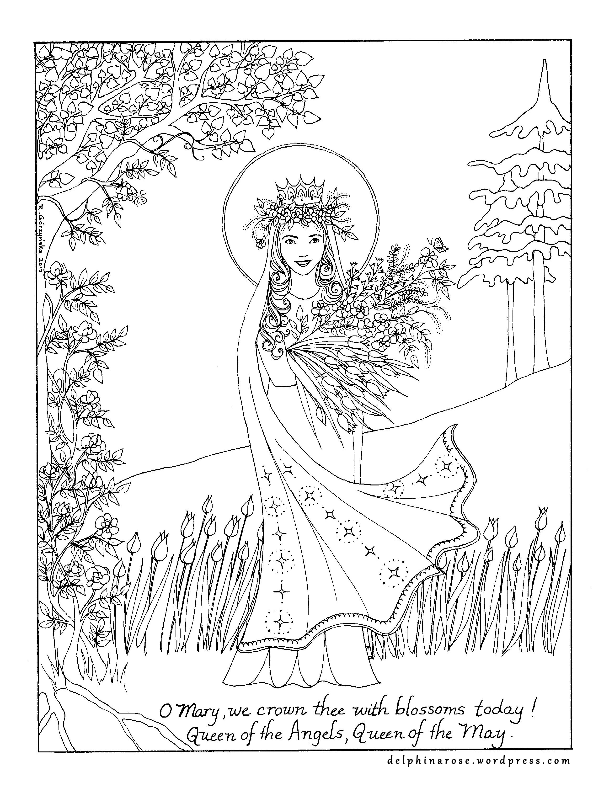 Coloring Pages – Delphina Rose